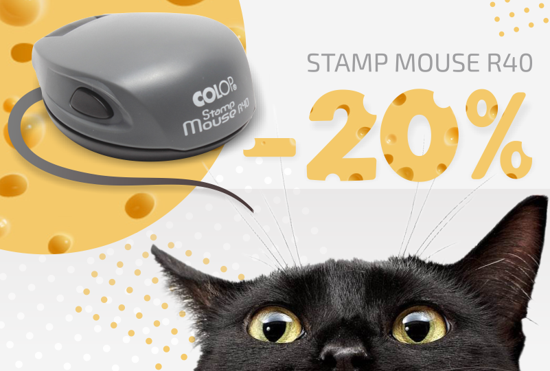 stamp mouse 40