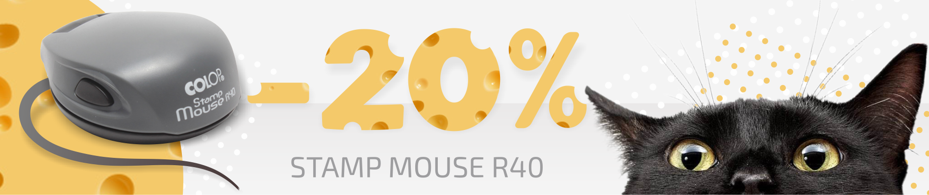 Colop Stamp Mouse 40 akcija